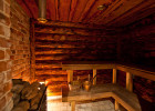 Saunamaja leiliruum
